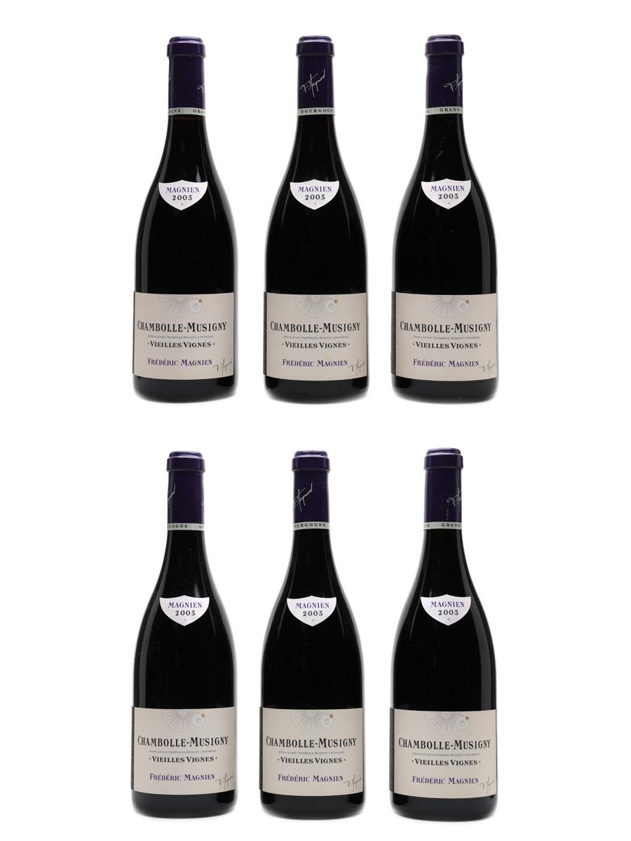 Vosne Romanee Vielles Vignes 2003 Frederic Magnien 6 x 75cl / 13%