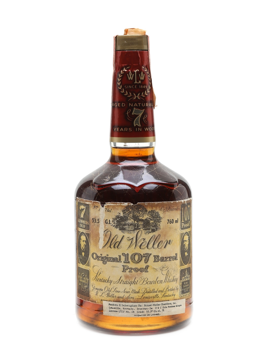 Old Weller Original 107 Proof 7 Year Old Stitzel-Weller 76cl / 53.5%