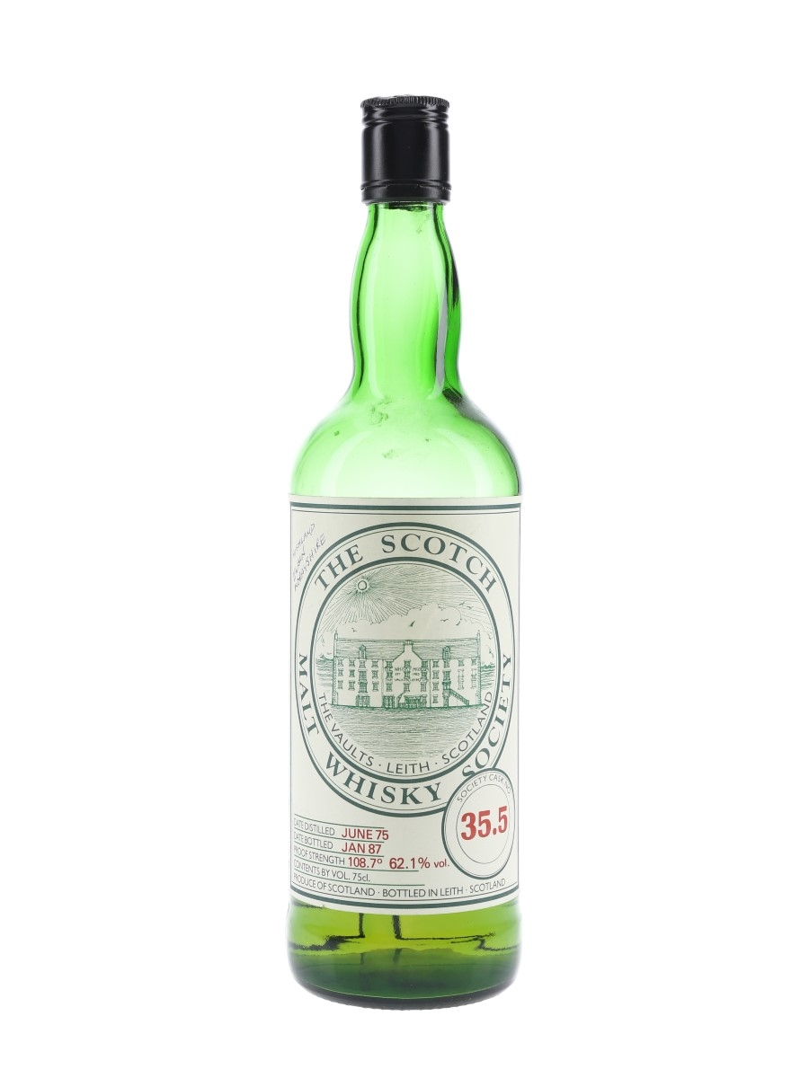 SMWS 35.5 Glen Moray 1975 75cl / 62.1%