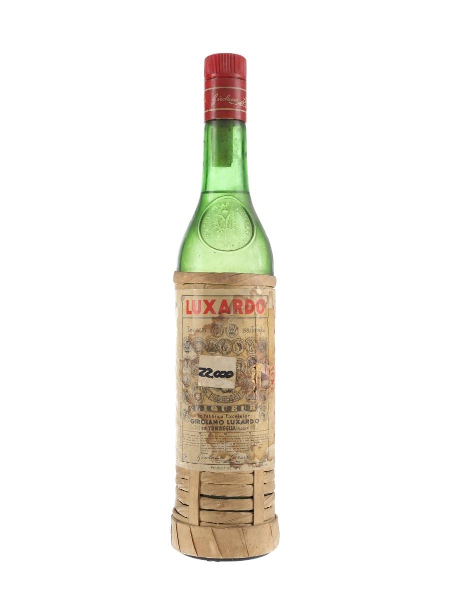 Luxardo Maraschino Liqueur Bottled 1980s 75cl / 32%
