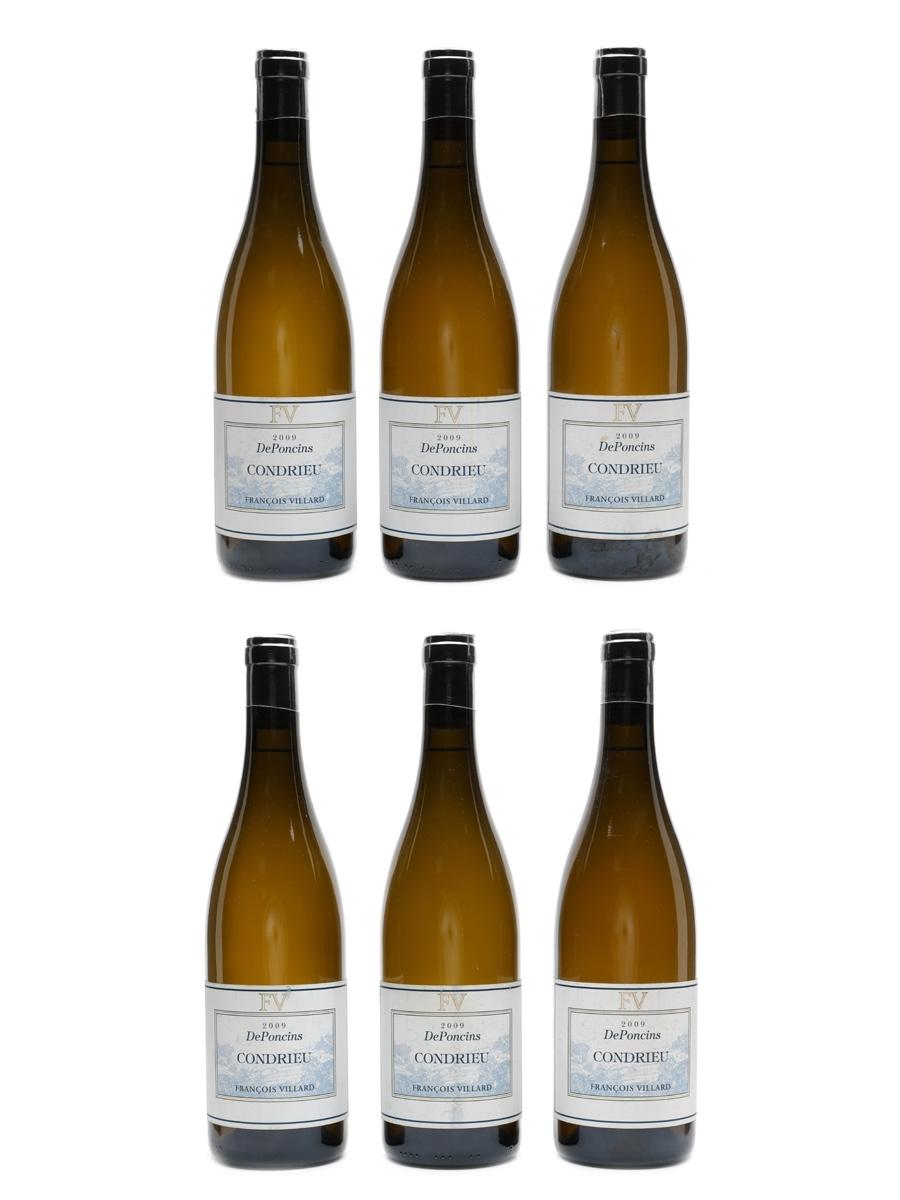 Condrieu De Poncins 2009 Francois Villard 6 x 75cl / 13.5%