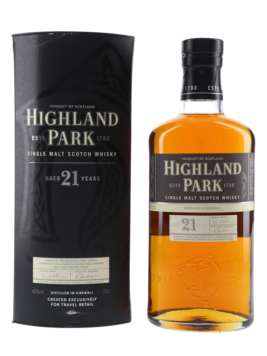Highland Park 21 Year Old Travel Retail Exclusive 70cl / 40%