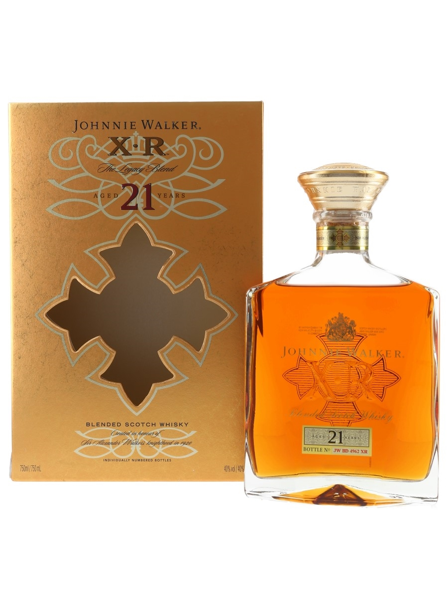 Johnnie Walker XR 21 Year Old  75cl / 40%