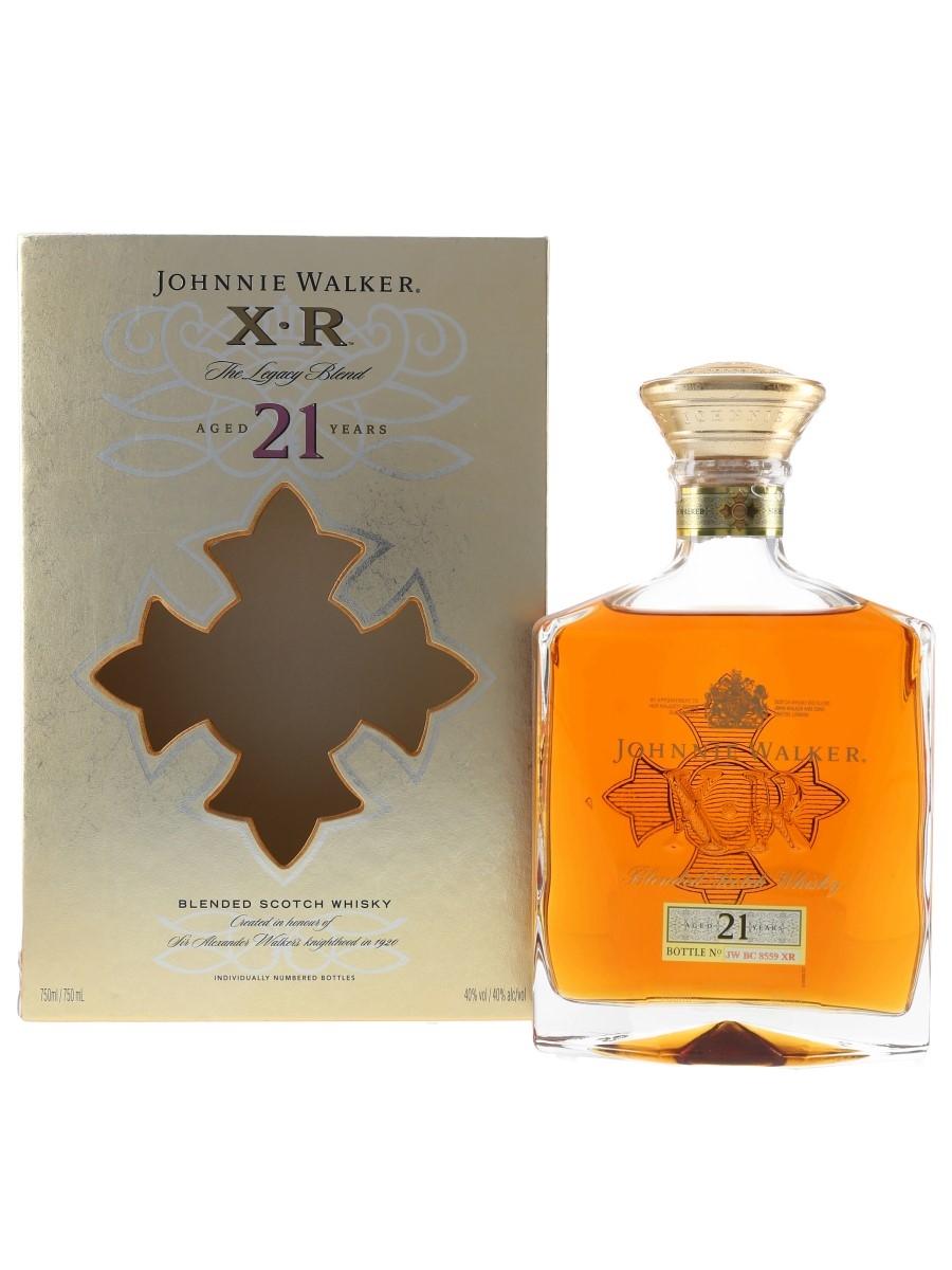 Johnnie Walker XR 21 Year Old  75cl / 40%