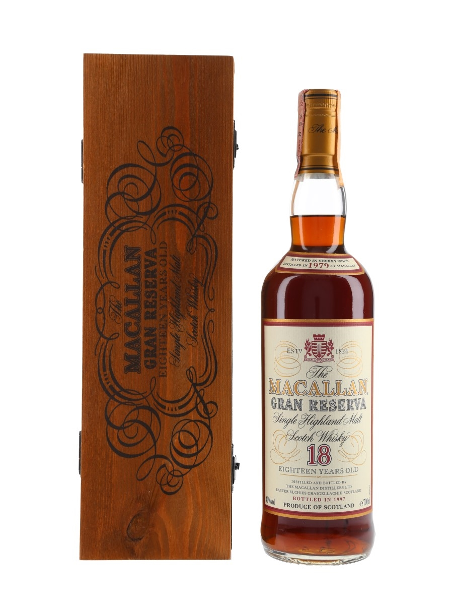 Macallan 1979 18 Year Old Gran Reserva Bottled 1997 - Taverna Degli Artisti 70cl / 40%