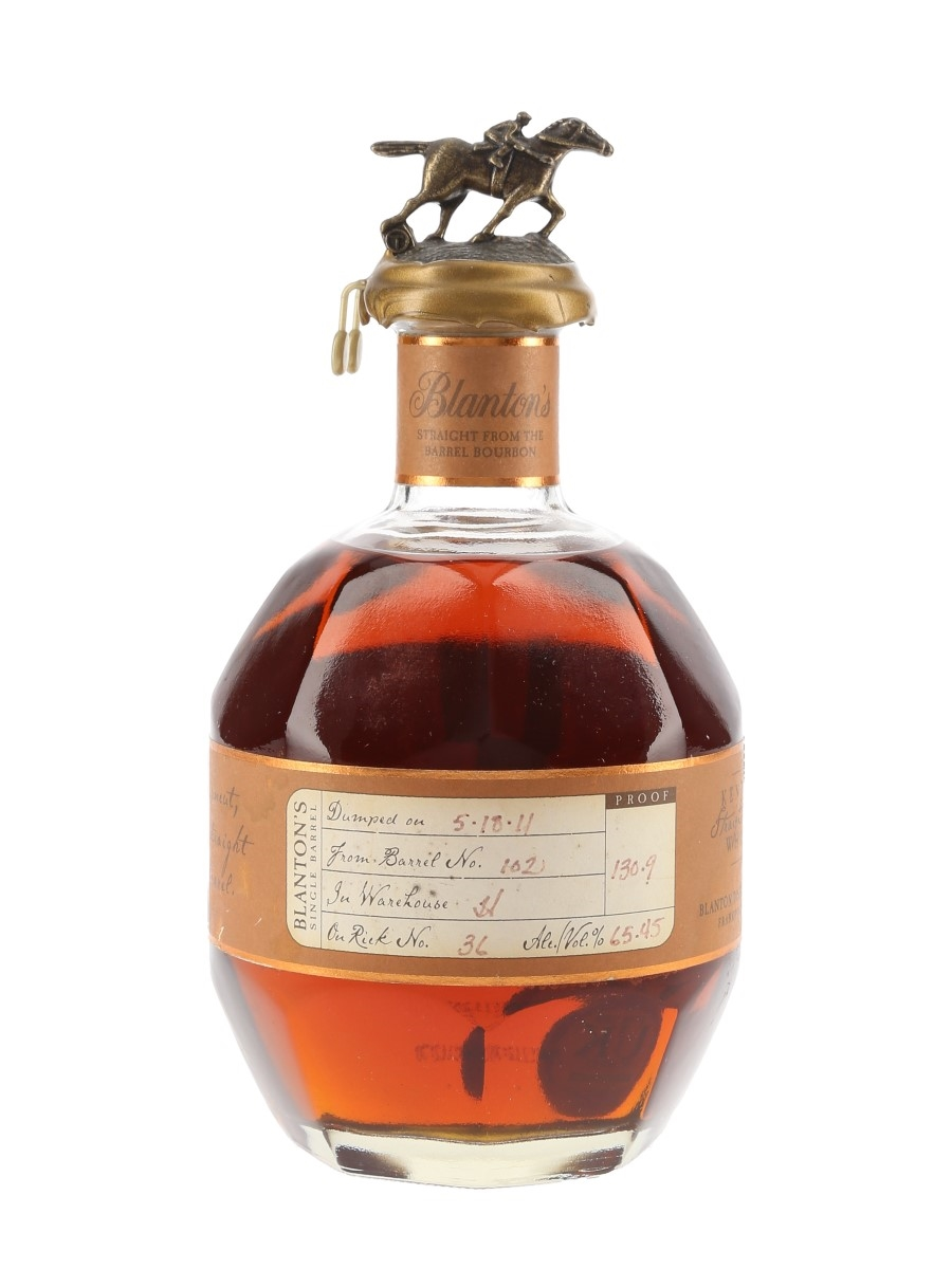 Blanton's Straight From The Barrel No.102 Bottled 2011 70cl / 65.45%