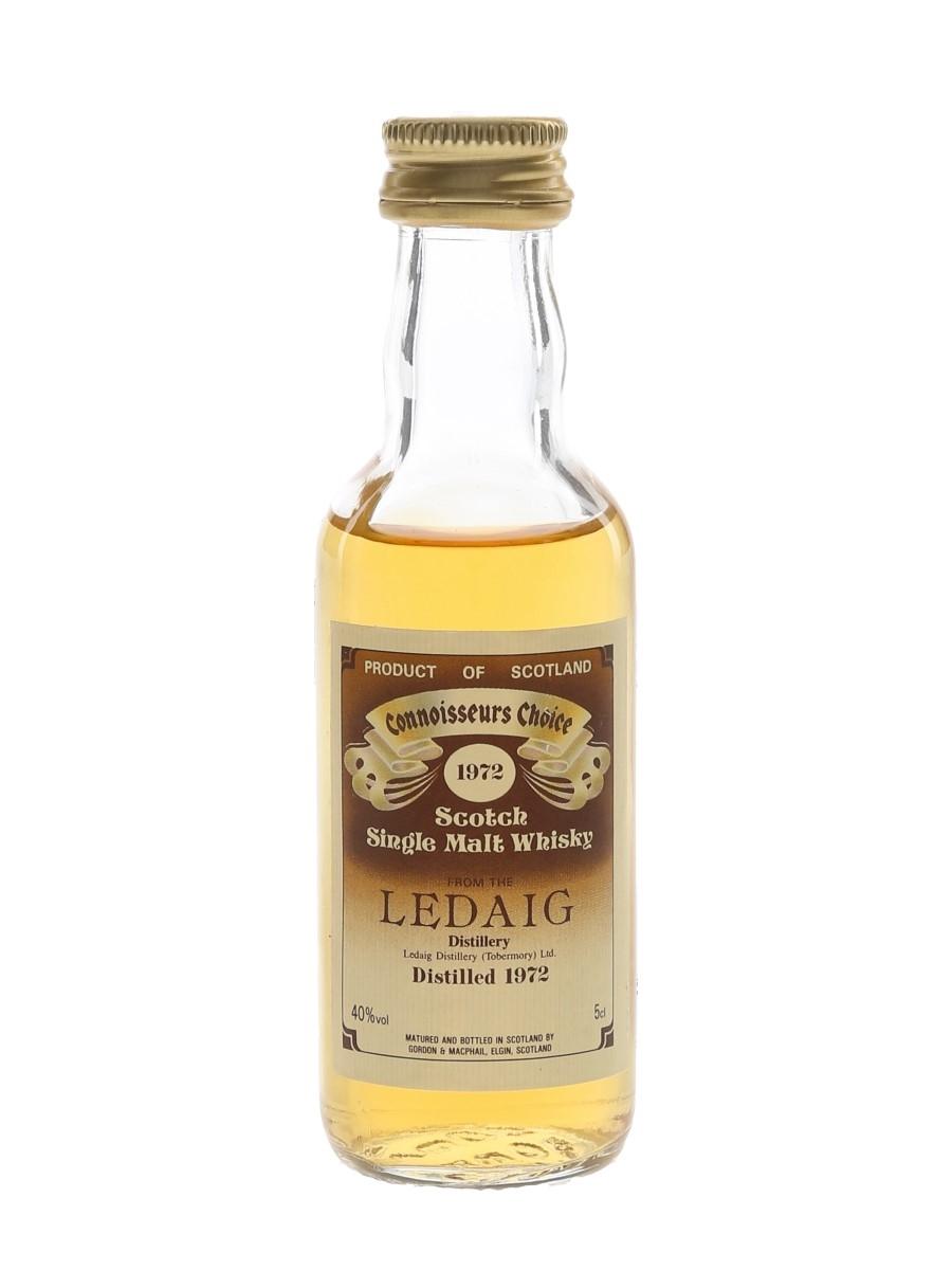 Ledaig 1972 Connoisseurs Choice Bottled 1980s - Gordon & MacPhail 5cl / 40%