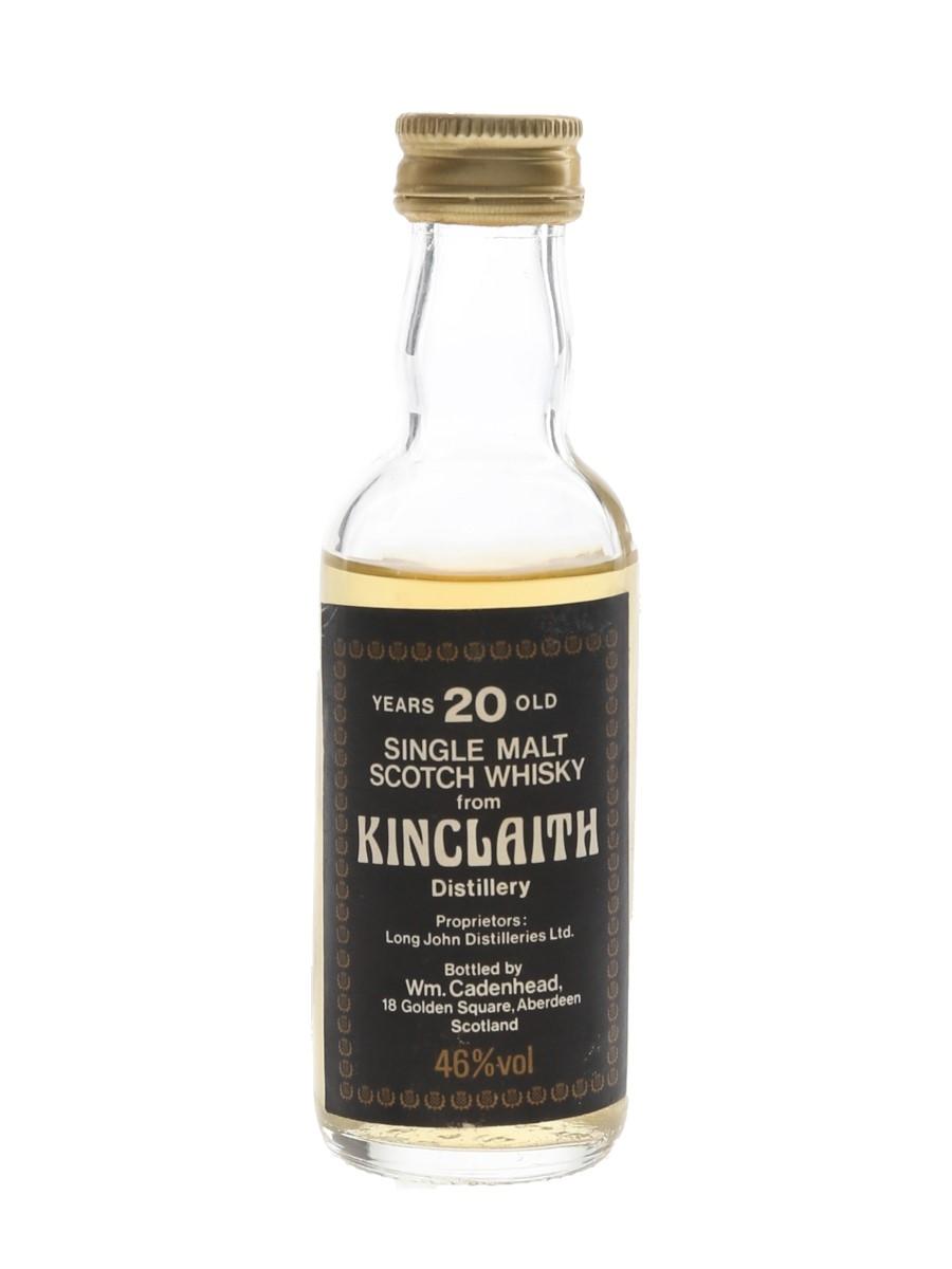 Kinclaith 20 Year Old Bottled 1980s - Cadenhead's 5cl / 46%