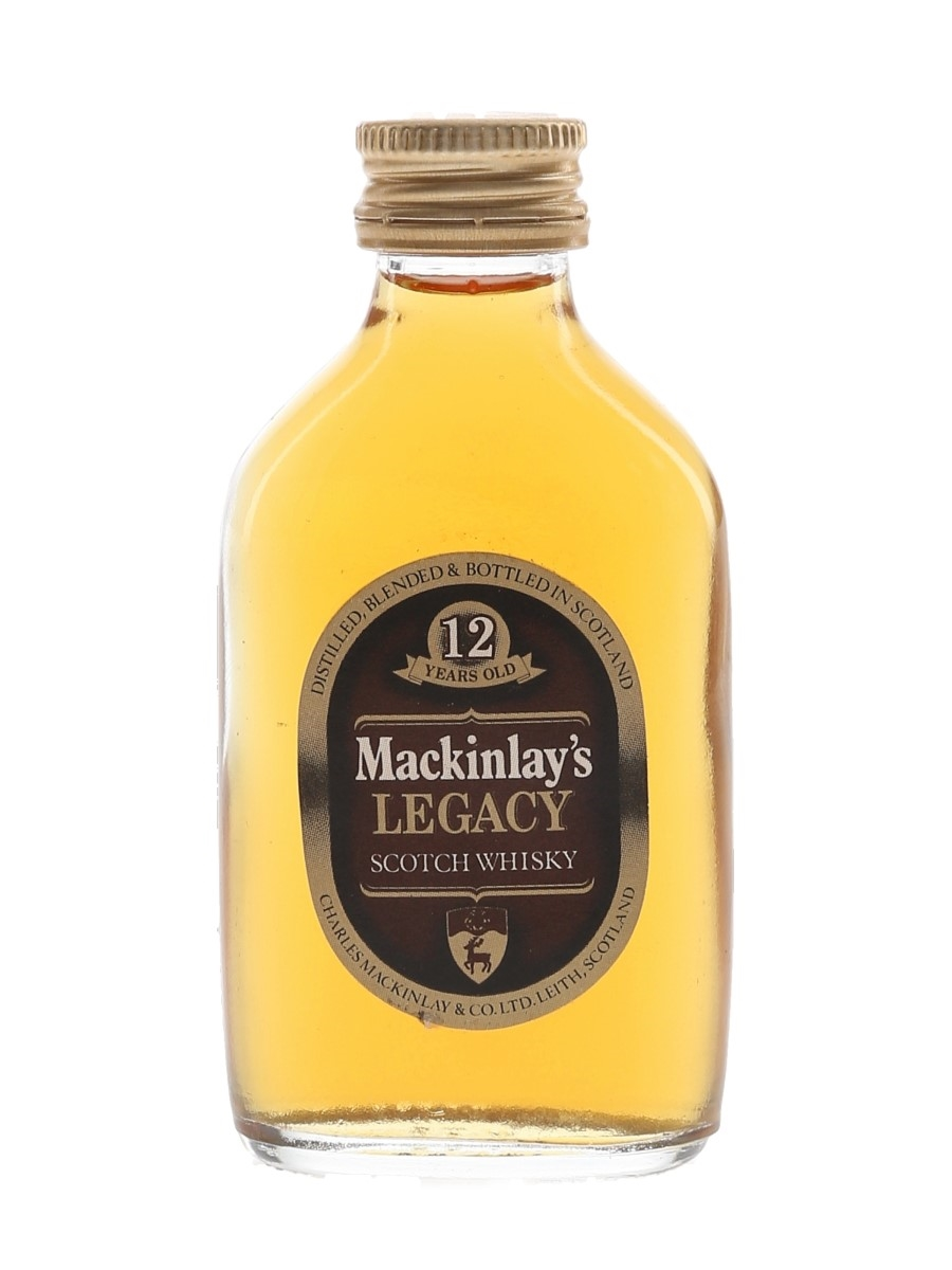 Mackinlay's 12 Year Old Bottled 1970s 5cl