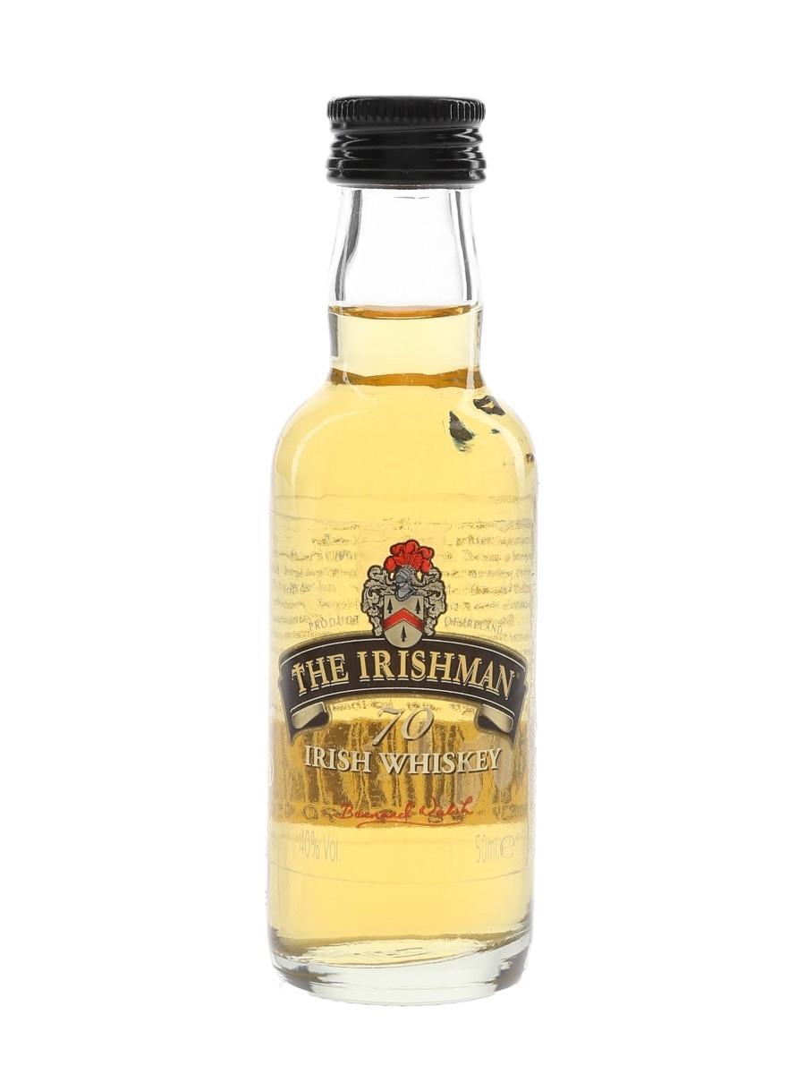 The Irishman 70 Irish Whiskey  5cl / 40%