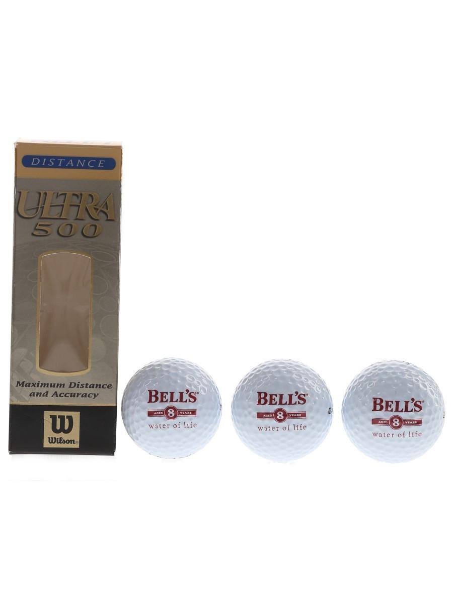 Bell's 8 Year Old Golf Balls Wilson Ultra 500 Distance