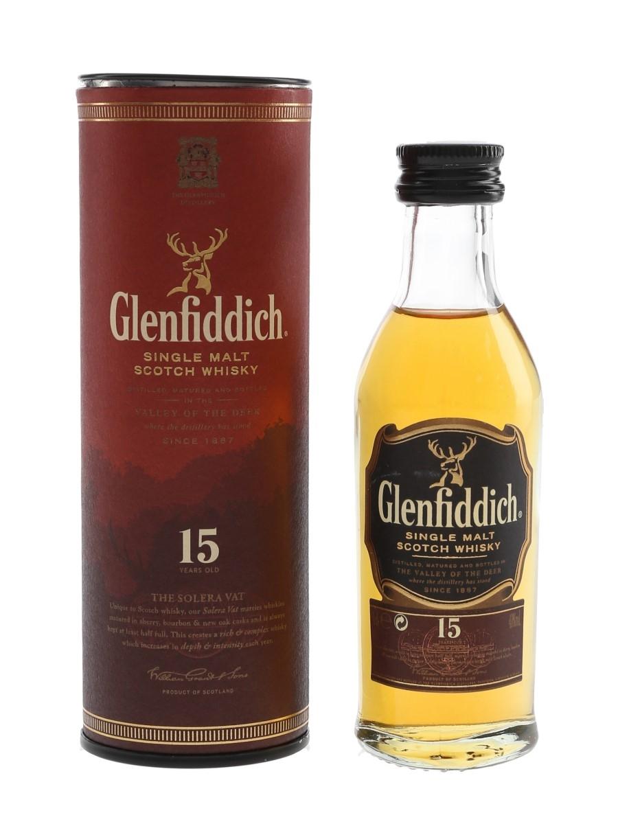 Glenfiddich 15 Year Old  5cl / 40%