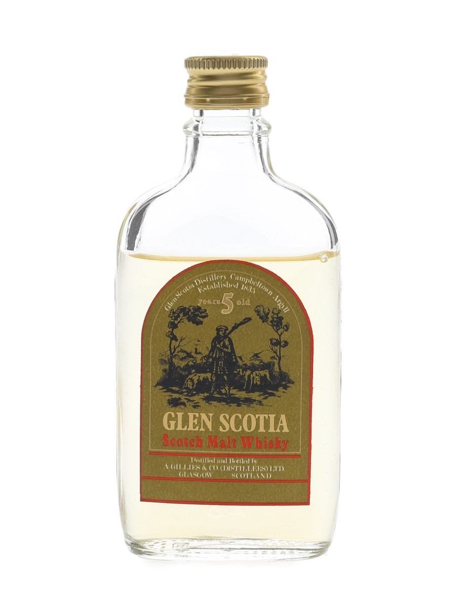 Glen Scotia 5 Year Old Bottled 1960s-1970s 5cl