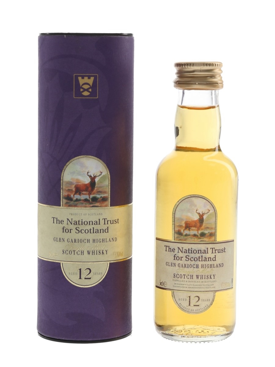 Glen Garioch 12 Year Old Bottled 2000s - The National Trust For Scotland 5cl / 43%