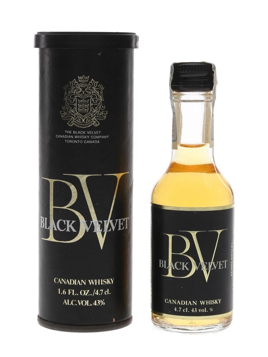 Black Velvet 1968  4.7cl / 43%
