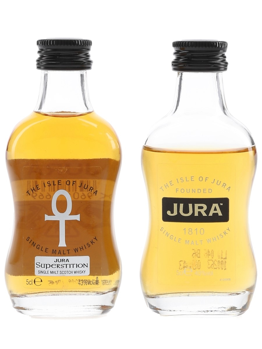 Jura & Superstition  2 x 5cl
