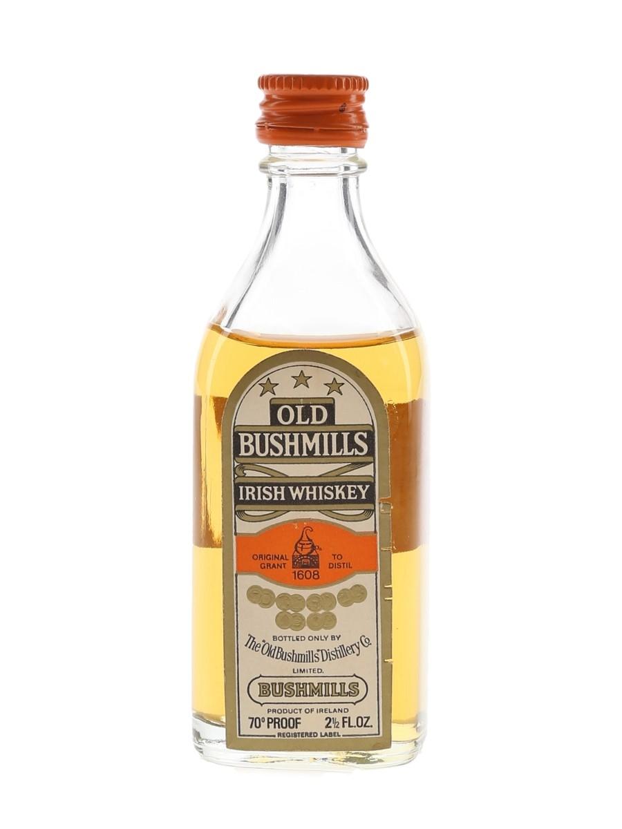 Old Bushmills 3 Star Bottled 1960s-1970s 7.1cl / 40%