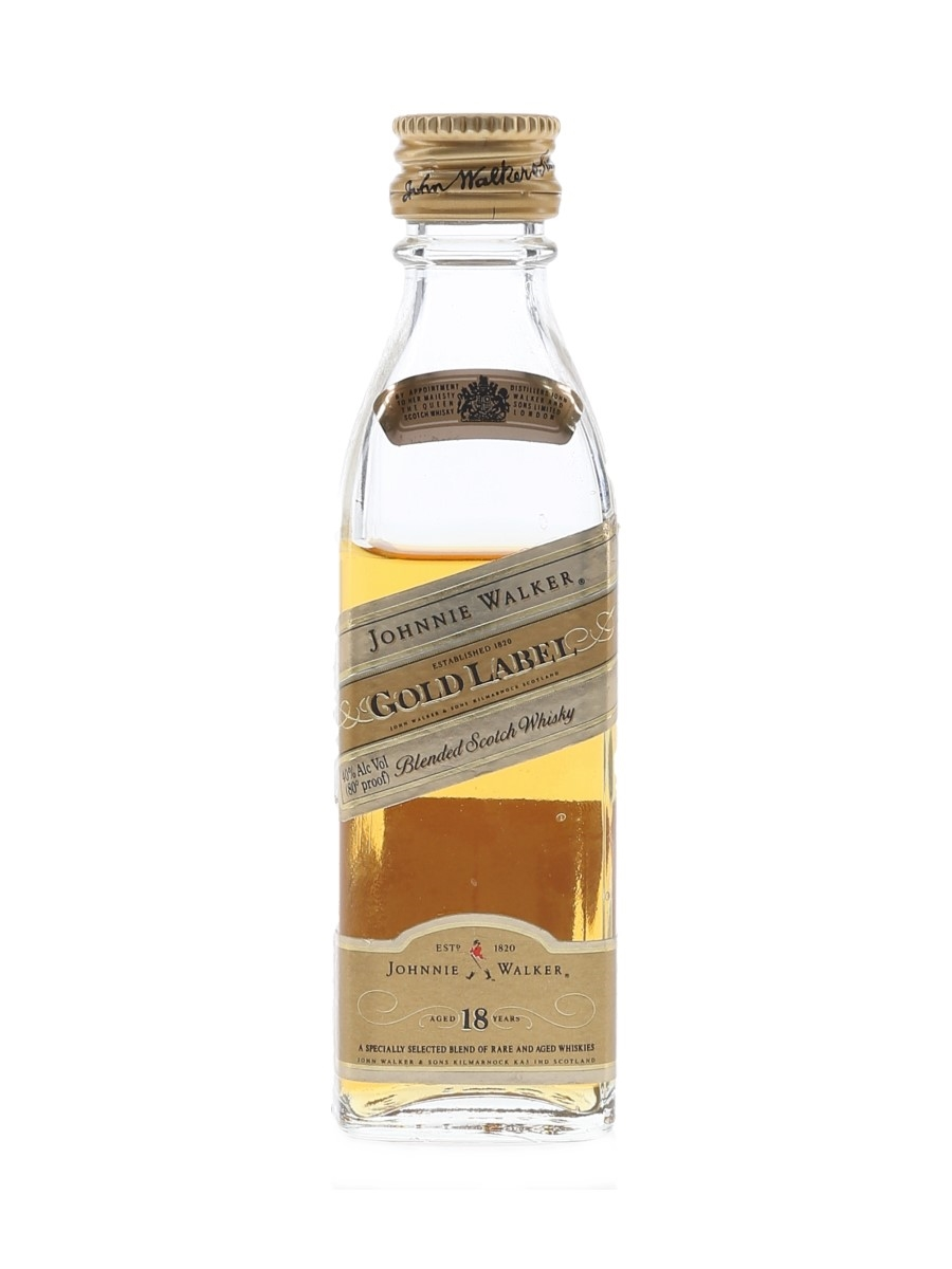 Johnnie Walker 18 Year Old Gold Label  5cl / 40%