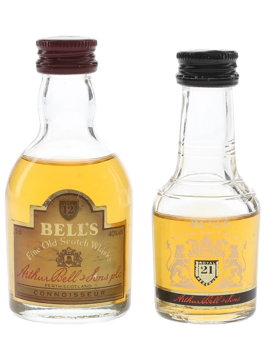 Bell's 12 Year Old & 21 Year Old  2 x 5cl / 40%
