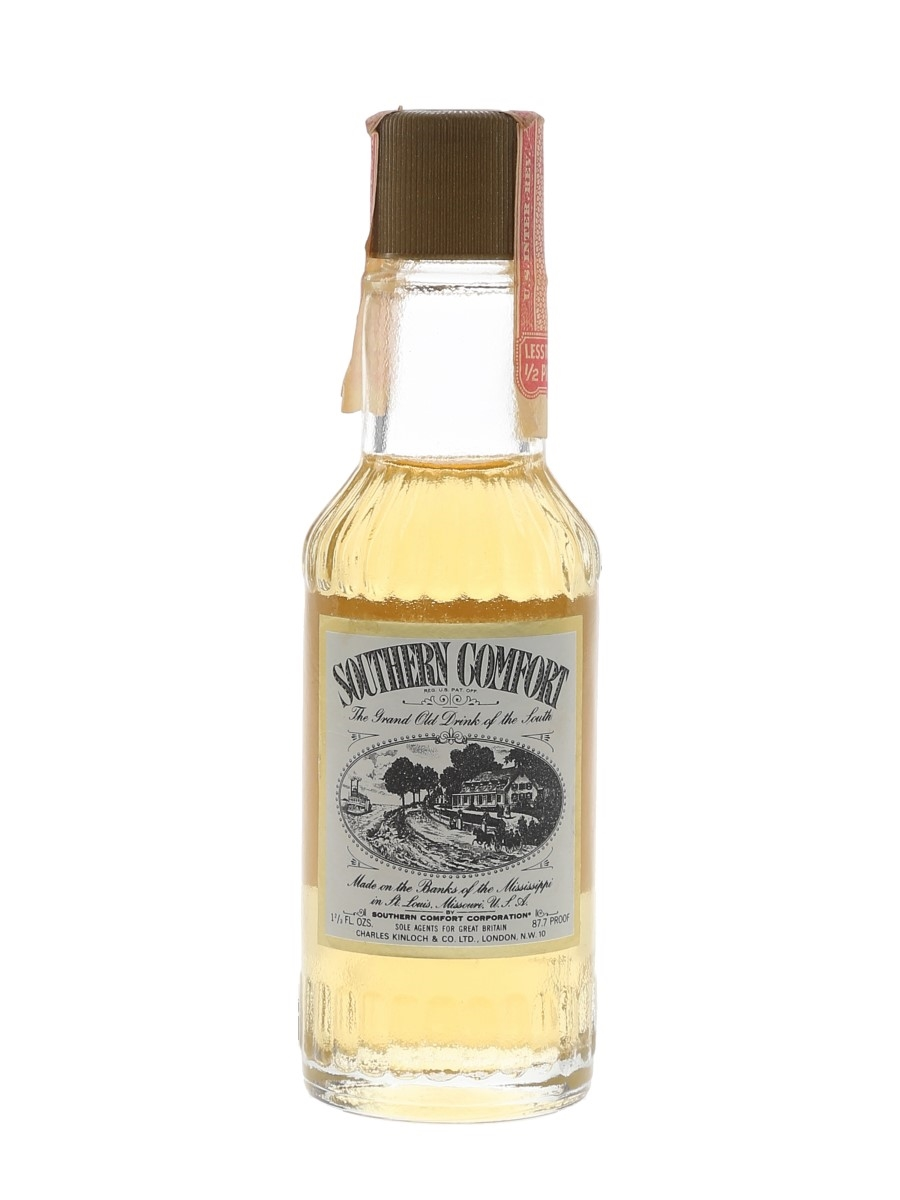 Southern Comfort Bottled 1970s 4.7cl / 50%