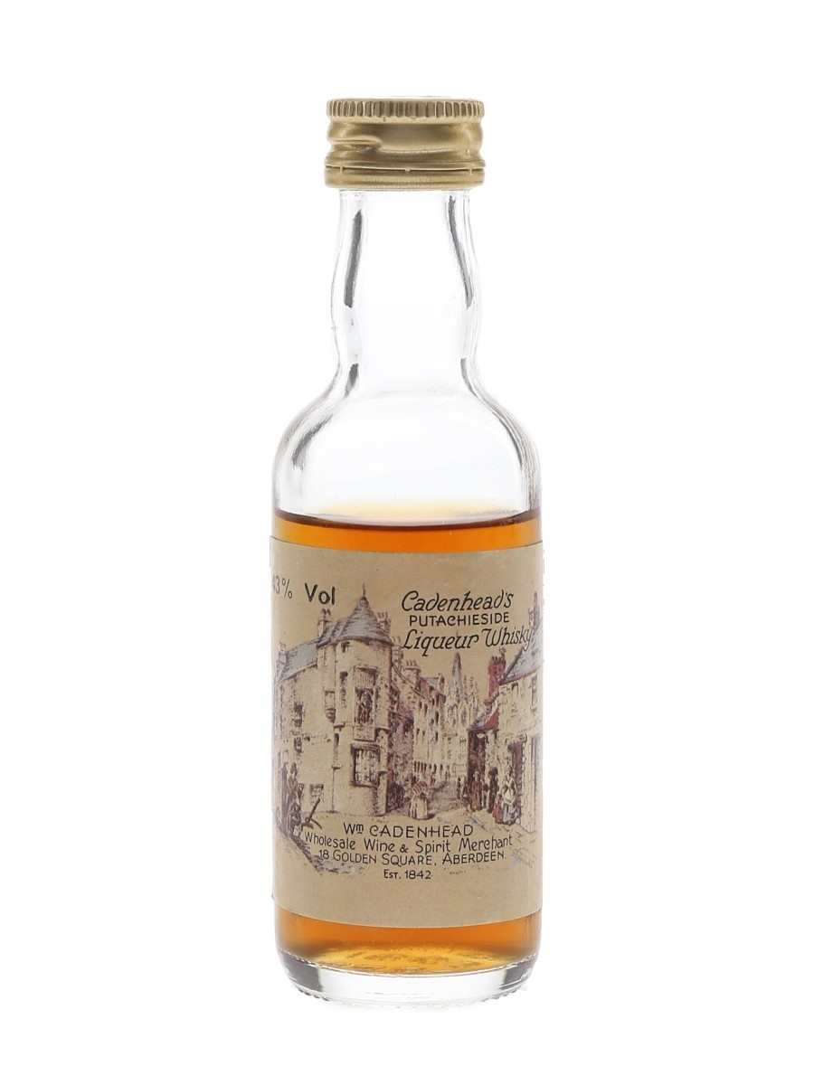 Cadenhead's Putachieside Bottled 1980s 5cl / 43%