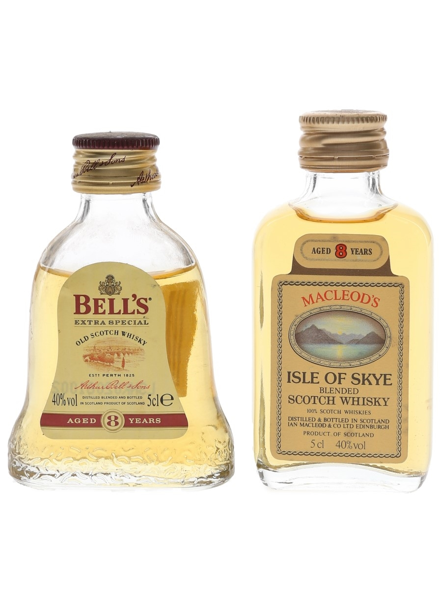 Bell's Extra Special & Macleod's Isle Of Skye 8 Year Old  2 x 5cl / 40%