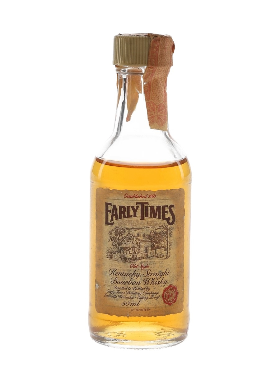 Early Times Bottled 1980s 5cl / 40%
