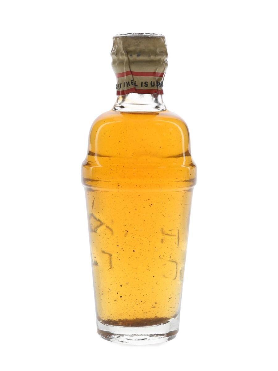 Gordon's Cocktail Spring Cap Bottled 1950s - Missing Label 5cl