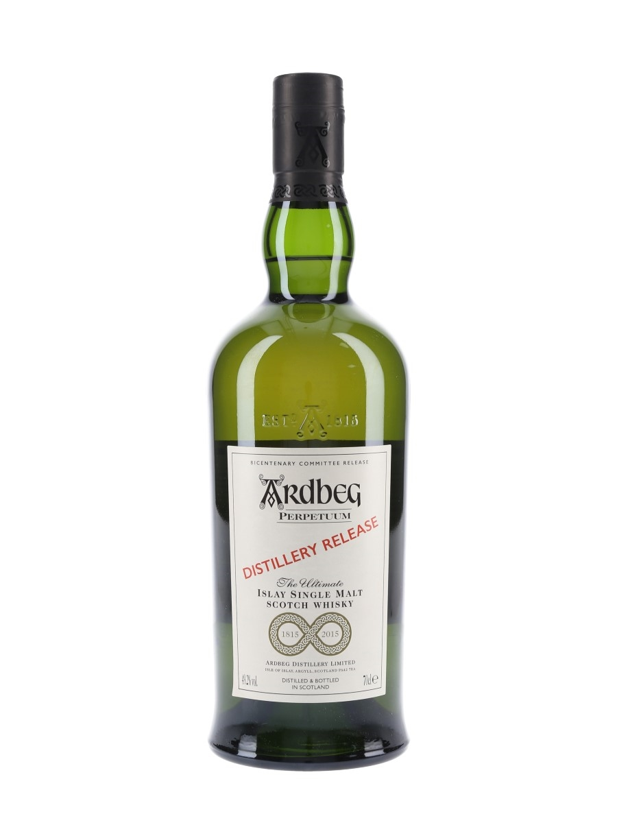 Ardbeg Perpetuum Bottled 2015 - Distillery Release 70cl / 49.2%