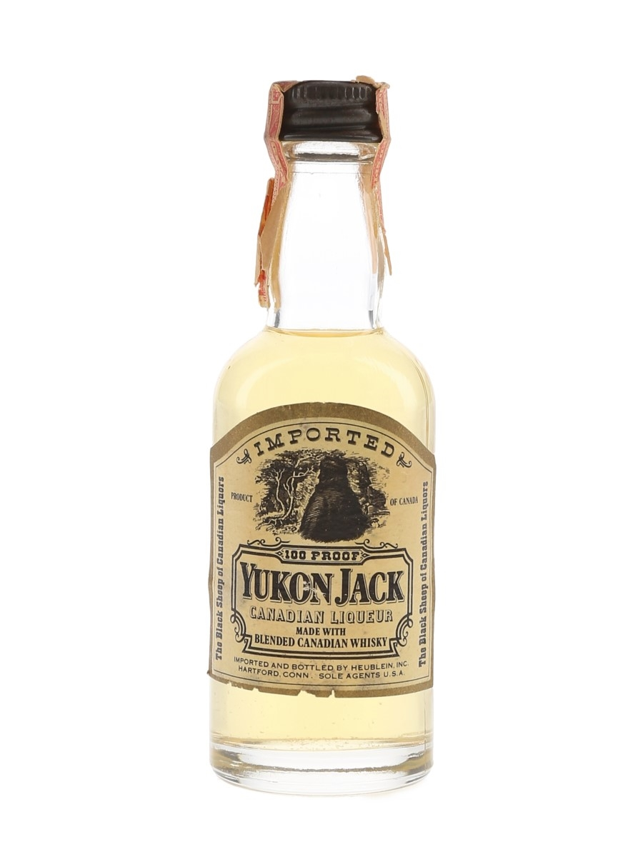 Yukon Jack Canadian Liqueur Bottled 1960s 5cl / 50%