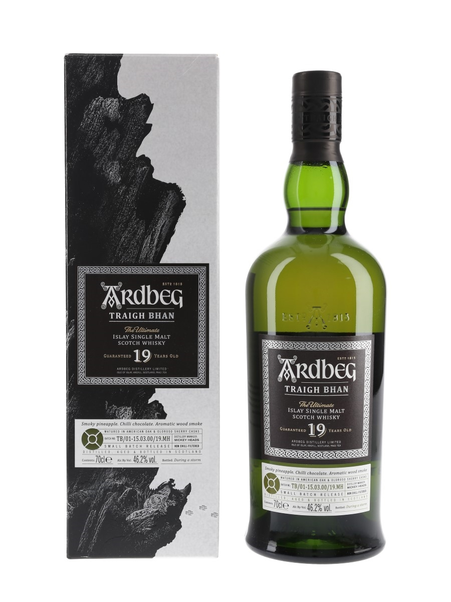 Ardbeg 19 Year Old Traigh Bhan Bottled 2019 - Small Batch Release 70cl / 46.2%