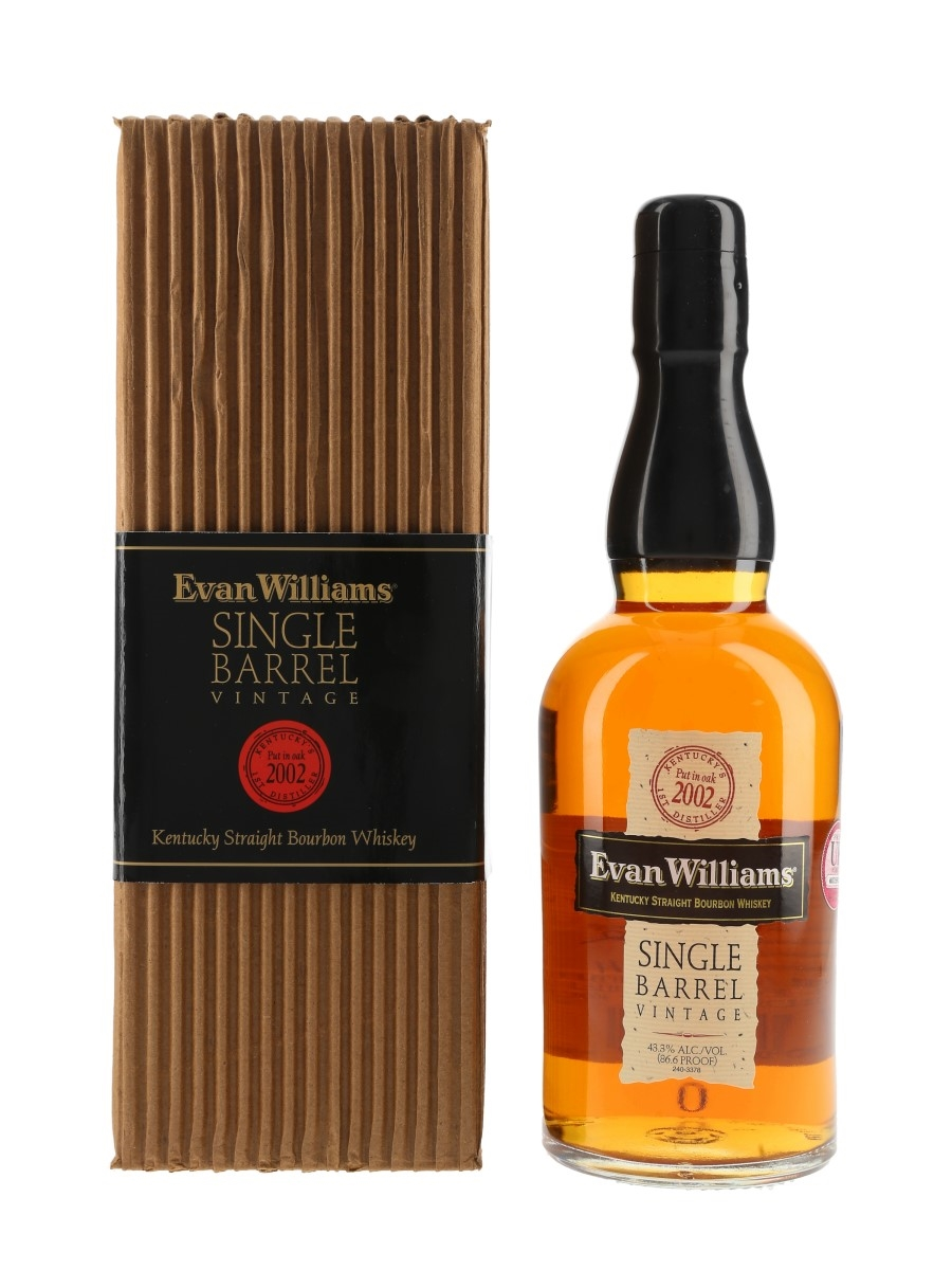 Evan Williams Single Barrel Vintage 2002 Bottled 2011 75cl / 43.3%