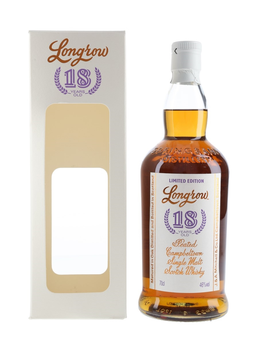 Longrow 18 Year Old Bottled 2014 70cl / 46%