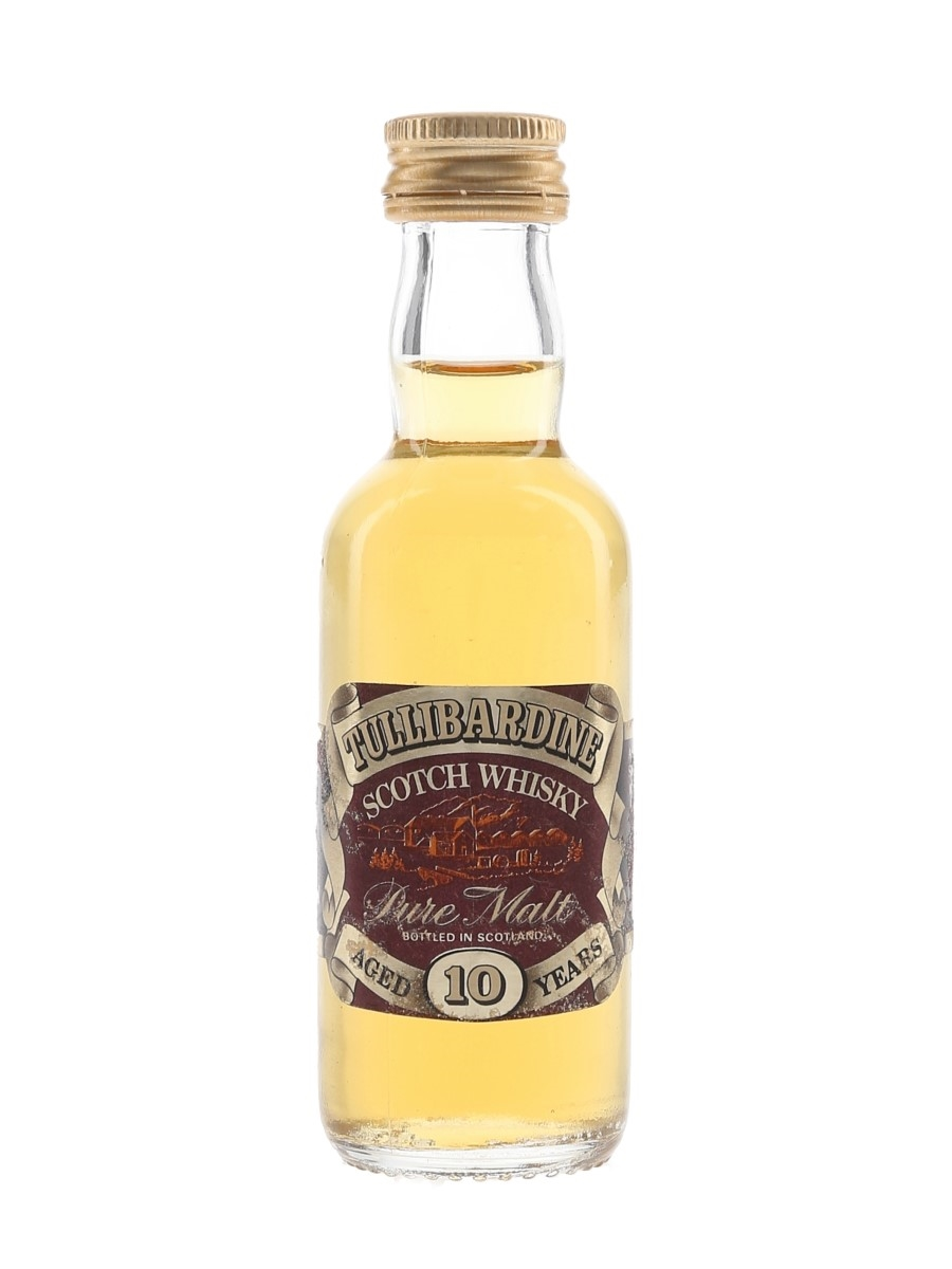 Tullibardine 10 Year Old Bottled 1980s 5cl / 40%