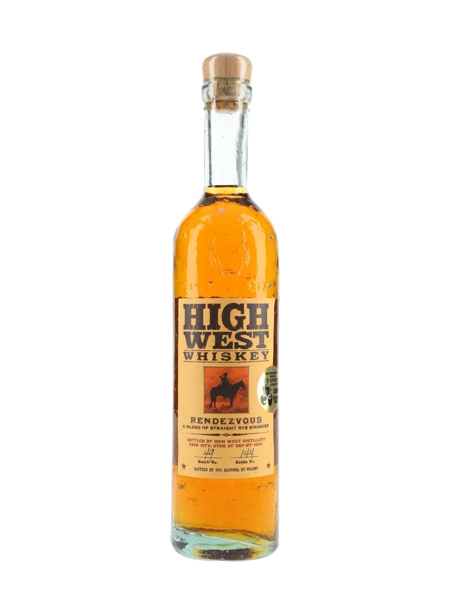 High West Rendezvous Rye Batch No. 49 70cl / 46%