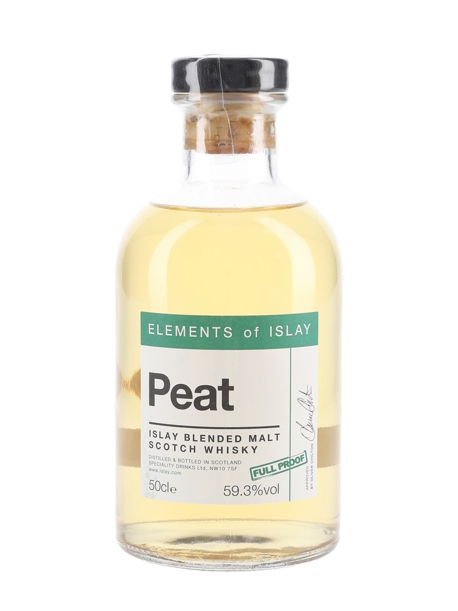 Elements Of Islay Peat Full Proof Speciality Drinks 50cl / 59.3%