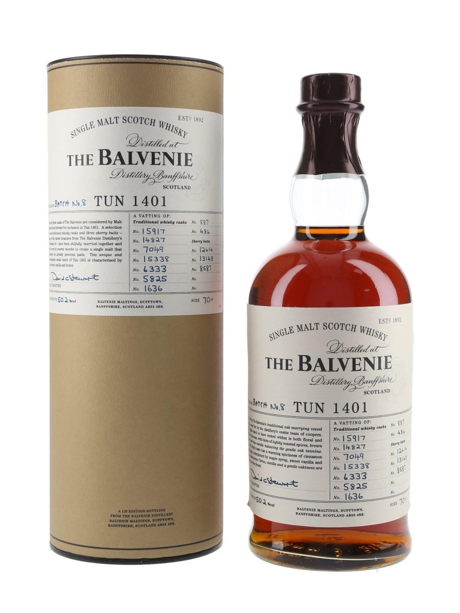 Balvenie Tun 1401 Batch 8 70cl / 50.2%