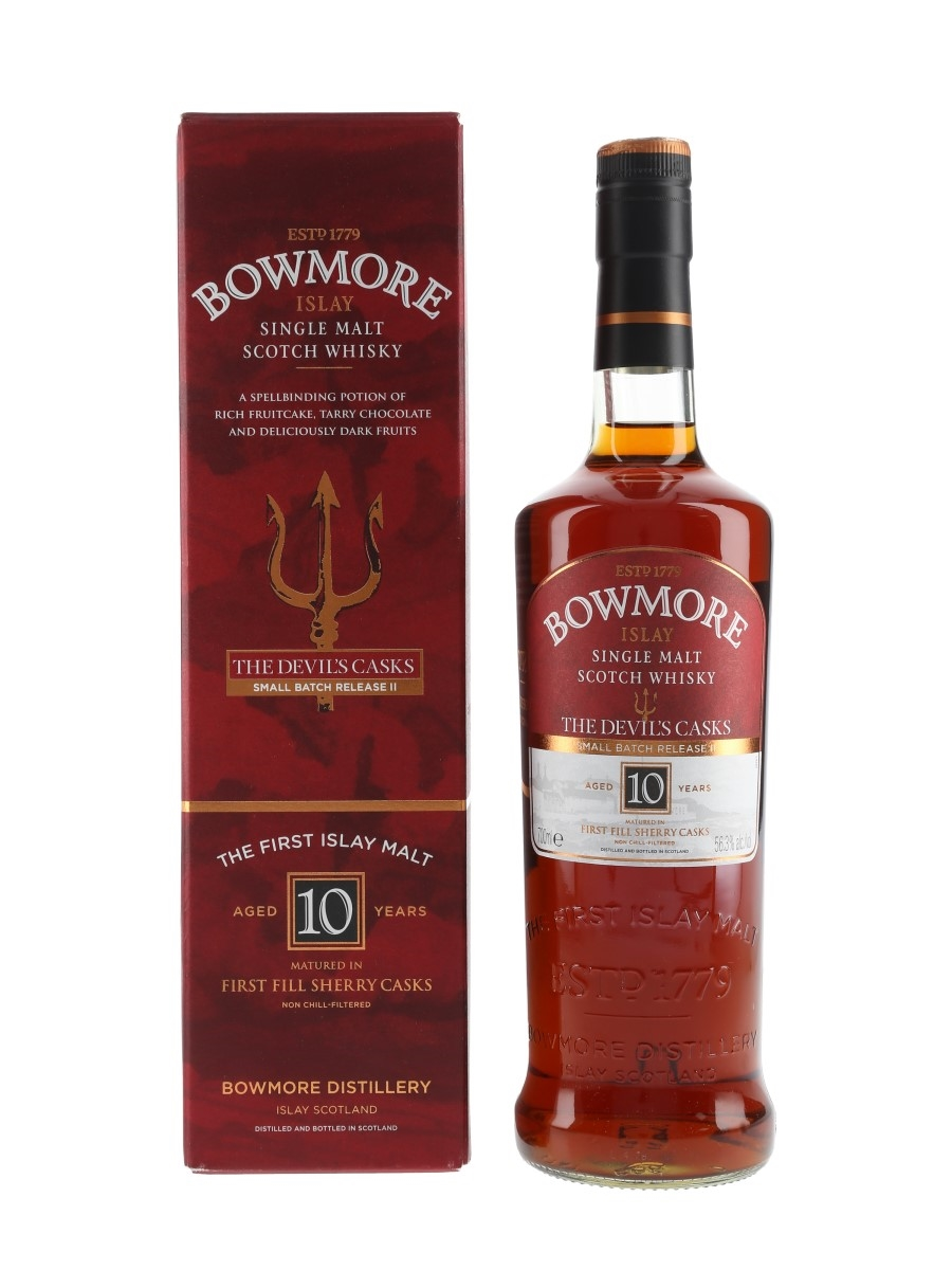 Bowmore 10 Year Old The Devil's Casks Small Batch Release II 70cl / 56.3%