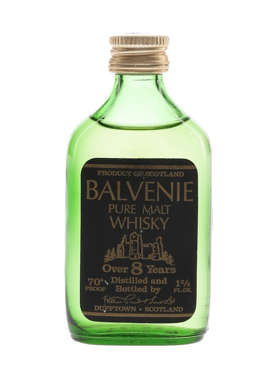 Balvenie 8 Year Old Pure Malt Bottled 1970s 4.7cl / 40%