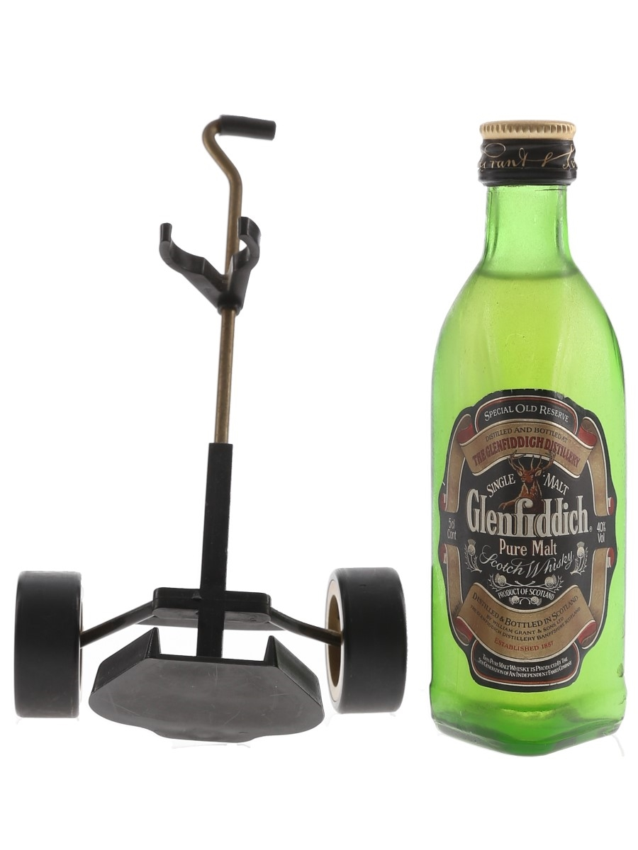 Glenfiddich Special Old Reserve Pure Malt Golf Trolley 5cl / 40%