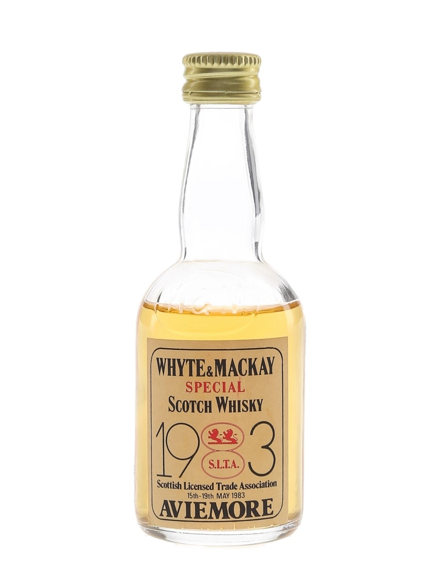 Whyte & Mackay Special Scottish Licensed Trade Association 1983 5cl / 40%