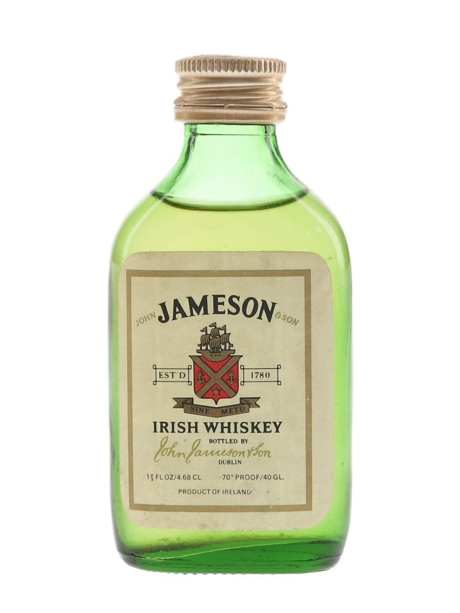 Jameson Bottled 1970s 4.6cl / 40%