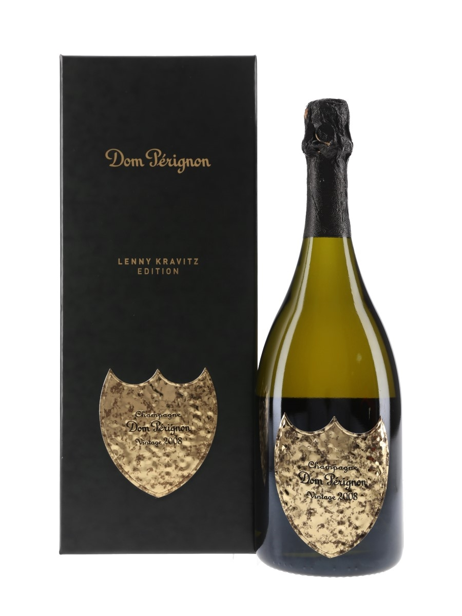 Dom Perignon 2008 Moet & Chandon - Lenny Kravitz Limited Edition 75cl / 12.5%