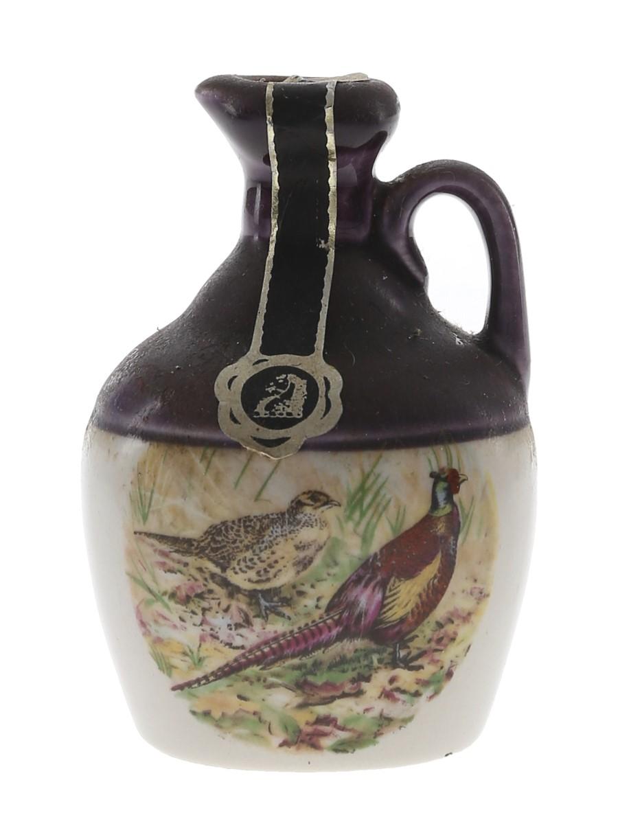 Rutherford's Ceramic Decanter Bottled 1980s - Montrose Potteries 5cl / 40%