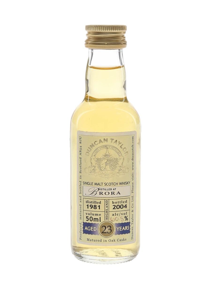Brora 1981 23 Year Old Bottled 2004 - Duncan Taylor 5cl / 60.8%