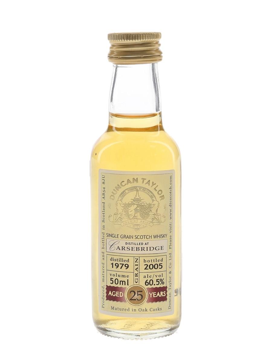 Carsebridge 1979 25 Year Old Bottled 2005 - Duncan Taylor 5cl / 60.5%