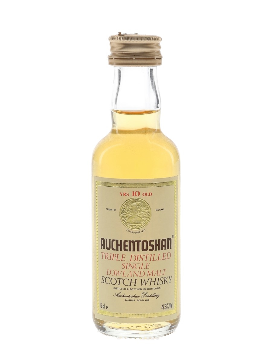 Auchentoshan 10 Year Old Bottled 1980s 5cl / 43%