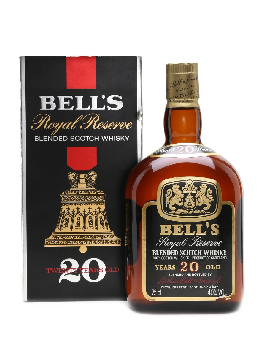 Bell's 20 Year Old Royal Reserve Bottled 1980s 75cl / 40%