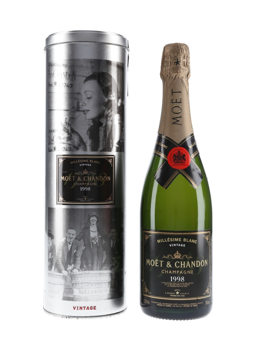 Moet & Chandon 1998 Millesime Blanc  75cl / 12.5%
