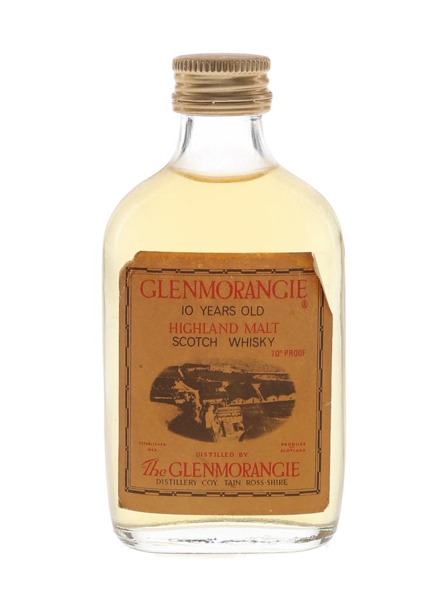 Glenmorangie 10 Year Old Bottled 1970s 5cl / 40%